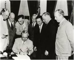 Atomic Energy Act Signing - 1954