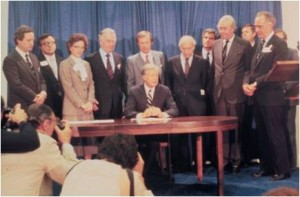 Signing of the West Valley Demonstration Project Act - 1980